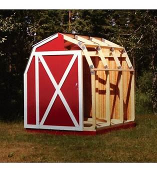 Fast Barn Framing Kit Plans