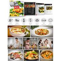 Fast fat burning meals cookbook paleo, vegan, real food recipes methods