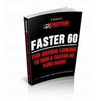 Faster 60: everything you need to improve your 60 yard dash inexpensive