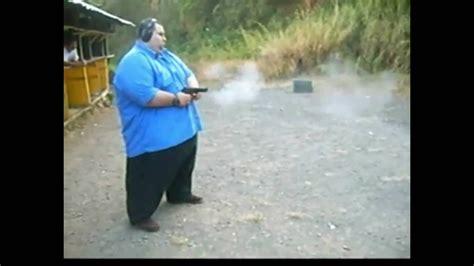 Fat Kid Shoots Shotgun