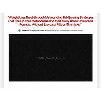 Fat destroyer system stunning sales page design high converting secrets
