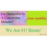 Fat diminisher is a conversion monster! $10,000 prize in january! promotional code