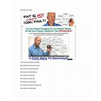Fat is not your fault discount
