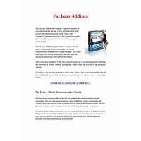 Fat loss 4 idiots reviews