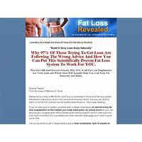 Fat loss revealed by will brink tutorials