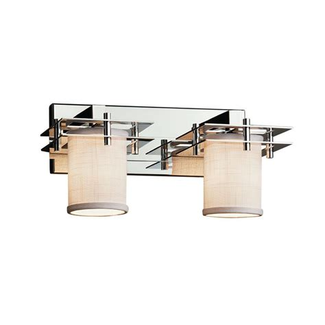 Favela Tetra 2 Light LED Cylinder w/ Flat Rim Vanity Light