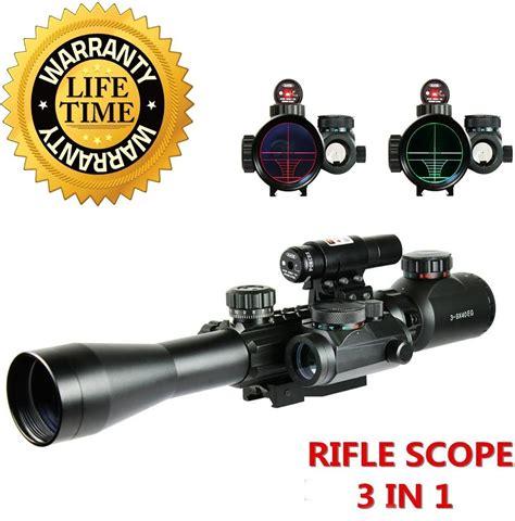 Fayachi 3-9x40eg Dual Illuminated Red Dot Laser Sight Infrared Riflescope