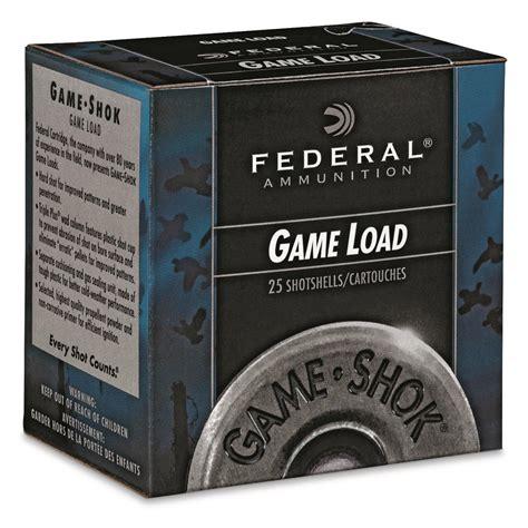 Federal 20 Ga 2 3 4 7 8 Oz 9 Lead Shot - CASE