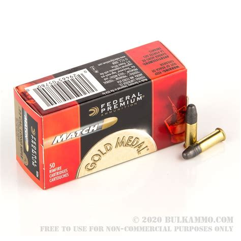 Federal 22 Ammo 50 Rounds