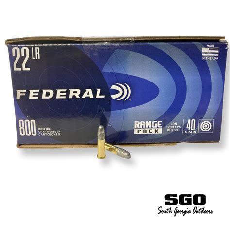 Federal 22 Lr Rimfire Ammo Range Pack