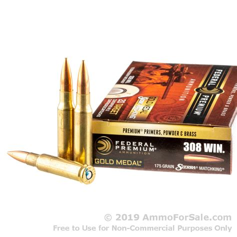 Federal 308 Ammo Price