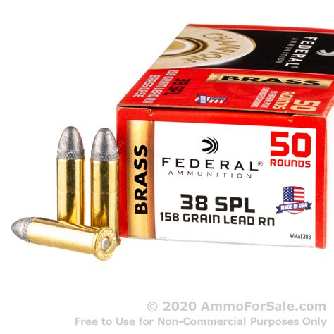 Federal 38 Special Ammo As Cheap As 27 Per Round