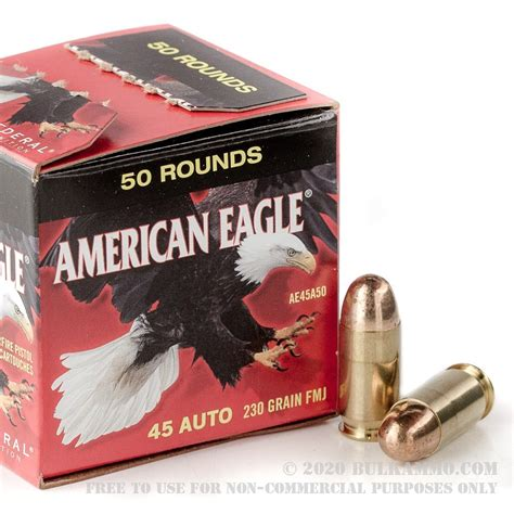 Federal 45 Acp Ammo 50 Rounds Price