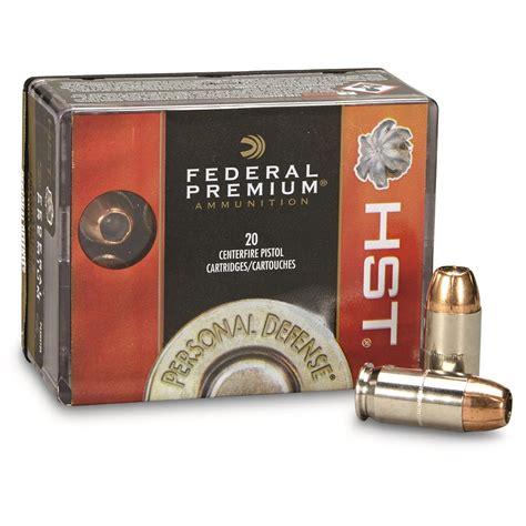 Federal 45 Hst Ammo