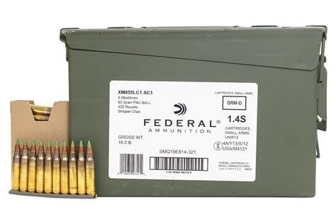 Federal 5 56 420 Rounds