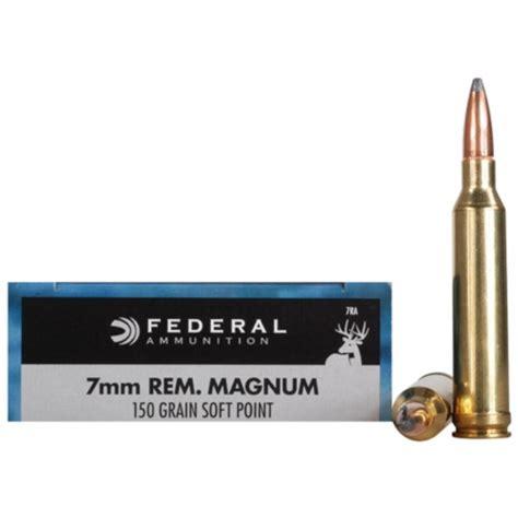 Federal 7mm Remington Magnum 150gr Power-Shok Ammunition