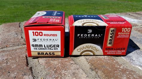 Federal 9mm Ammo Walmart Review