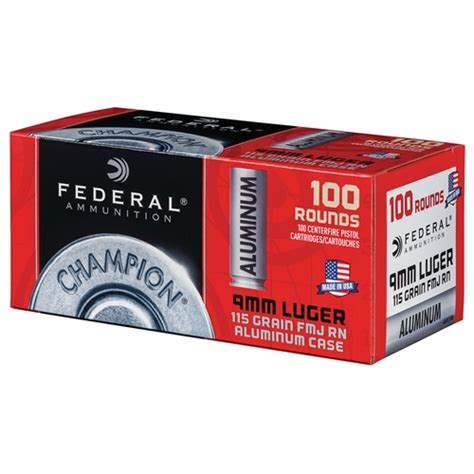 Federal Aluminum Ammo Review