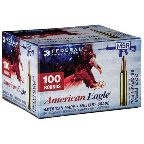 Federal American Eagle 223 Ammo Rebate Sportsman S Warehouse