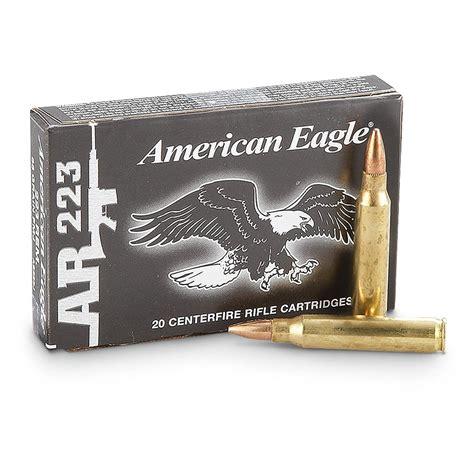 Federal American Eagle 223 Remington Ammo 55 Grain Fmj
