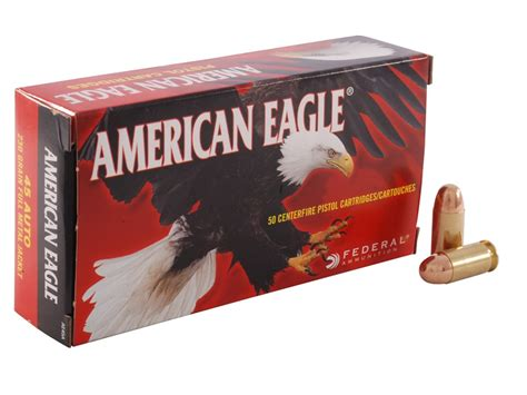 Federal American Eagle 45 Acp Ammunition With Ammo Can