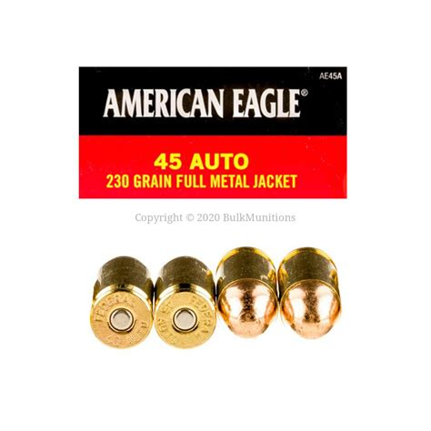 Federal Ammo 45 Auto 1000 Rounds
