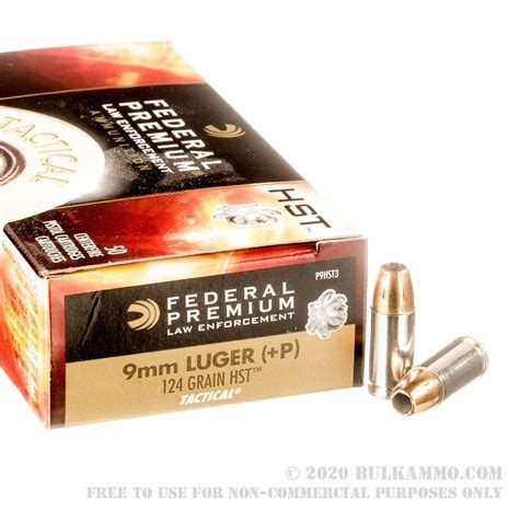 Federal Ammunition 9m Ammo With Can