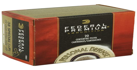 Federal Ammunition Personal Defense Hydra Shok P38hs1