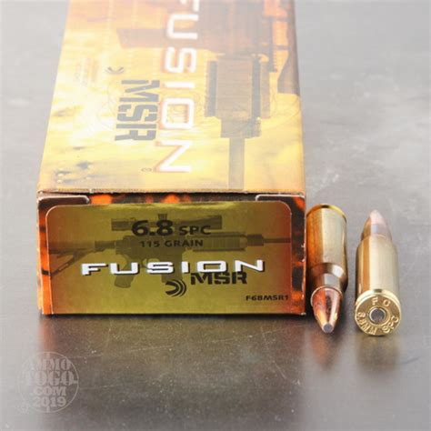 Federal Fusion 6 8 Ammo Review