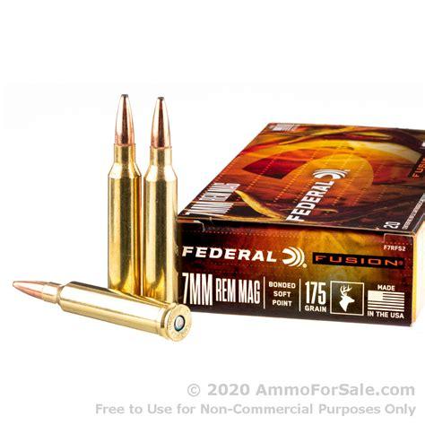 Federal Fusion 7mm Rem Mag Ammo