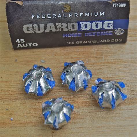 Federal Guard Dog Ammo 45 Acp
