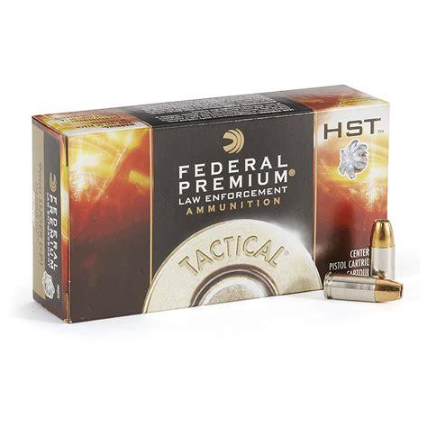 Federal Hp 9mm Ammo
