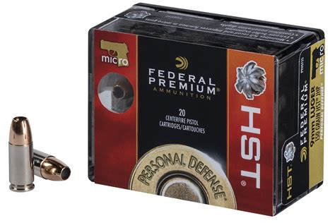 Federal Hst Micro 9mm