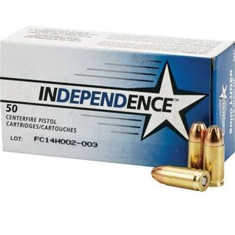 Federal Independence Ammo 9mm