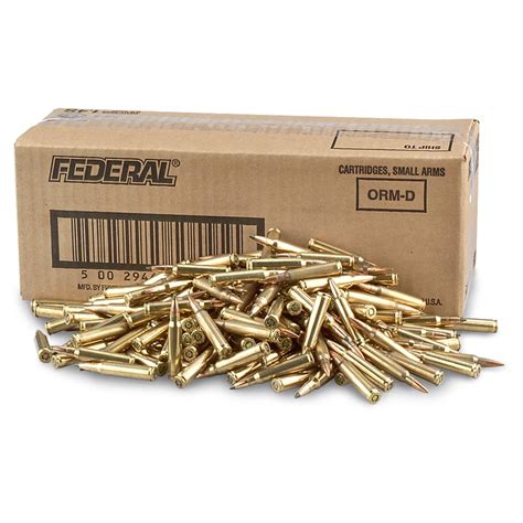 Federal Lake City Ammo