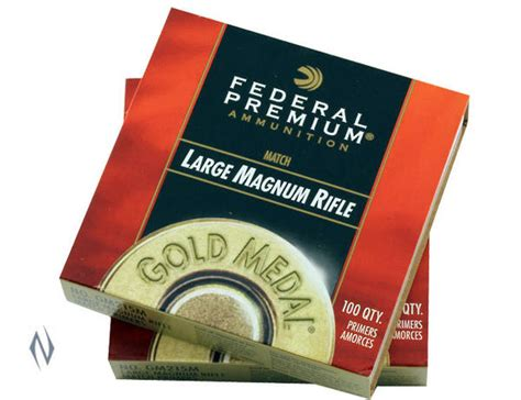 Federal Large Rifle Magnum Primers In Stock
