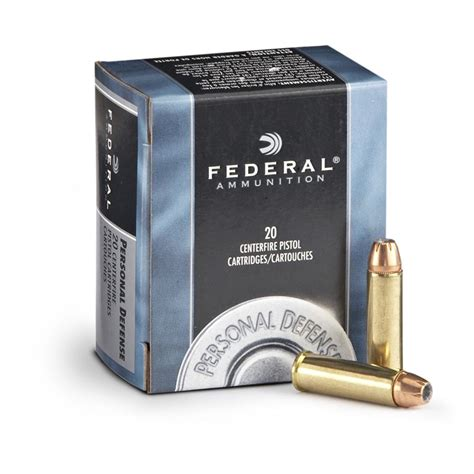 Federal Personal Defense 357 Magnum JHP 158 Grain 20