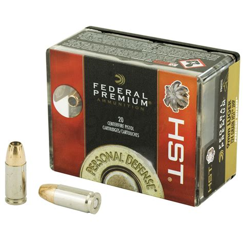 Federal Premium Ammo 9mm And 9mm Hst Ammo