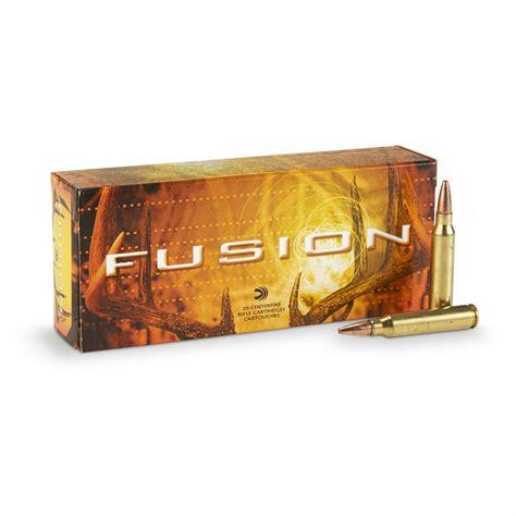 Federal Premium Fusion Rifle Ammo 223 Remington 62 Grain