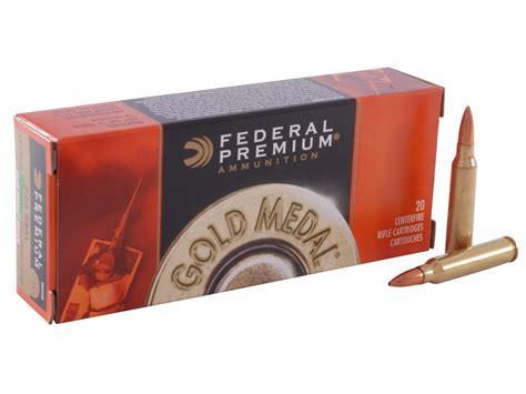 Federal Premium Gold Medal Ammo 223 Remington 69 Grain Sierra