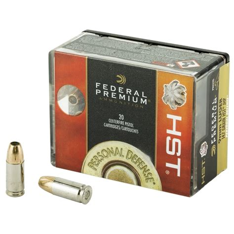 Federal Premium Hst 9mm Ammo For Sale
