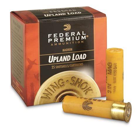 Federal Premium Mag 20 Gauge 3 1 1 4 Oz Shotshells 25