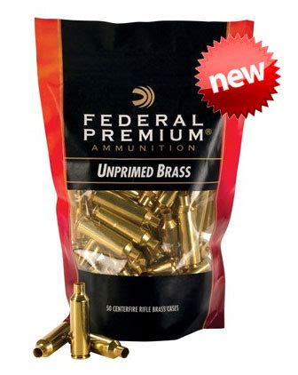 Federal Premium Now Offering Cartridge Brass For Reloaders
