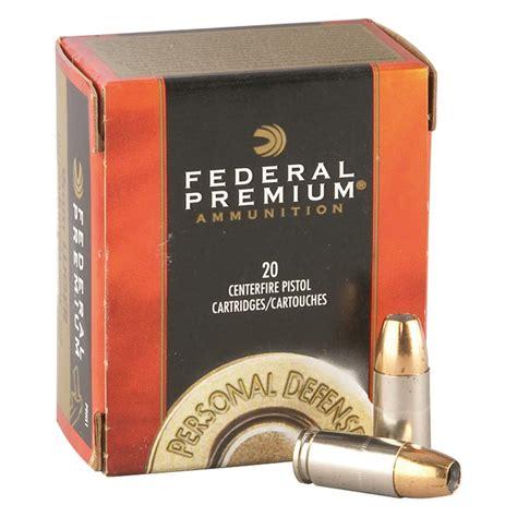 Federal Premium Personal Defense 10mm Hydra-Shok JHP