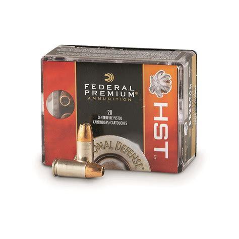 Federal Premium Personal Defense 9mm Hst 124 Grain 20