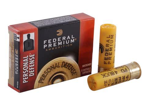Federal Premium Personal Defense Buckshot Shotshell Ammo