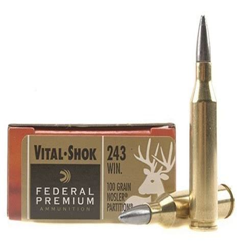 Federal Premium Rifle Ammo 243