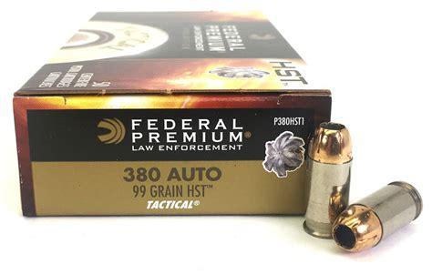 Federal Premium S HST 380 Auto Micro Ammo Redefines