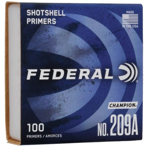 Federal Primers Federal 209a Shotshell Primers