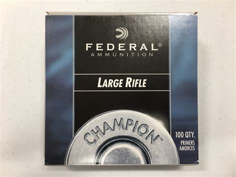 Federal Rifle Primers In Stock